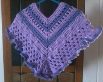 Crochet Poncho for Toddler/child/kids