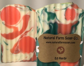 Ed Hardy Soap Handcrafted-Natural Soap-Artisan Soap