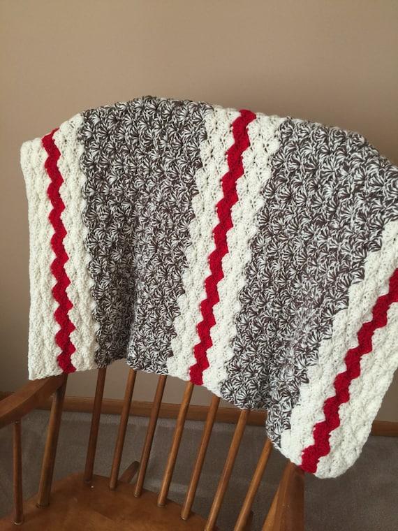 Crochet Baby Blanket Monkey Pattern : Crochet Baby Blanket Baby Blanket Boy Sock Monkey Blanket