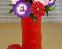 PENIS CANDLE, wedding gift, phallic symbol, bachelorette gift, Male Human Figure Candle, novelty, god figure candle, bees wax blend