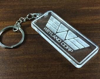 Keychain Weyland Corp. film Prometheus