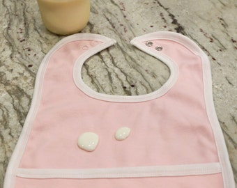 Drool Bib - Liquid Repellant 100% Cotton Bib