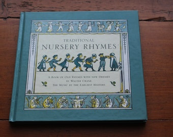 Traditional Nursery Rhymes by Walter Crane Music By the Earliest Masters - 1995