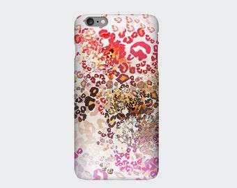 Leopard Print iPhone case, Animal Print iPhone 6s, 6, 6s Plus, 6 Plus, 5s, 5c, 4s Case, Samsung S6, S5, S4, S3, S6 Edge Multicolour