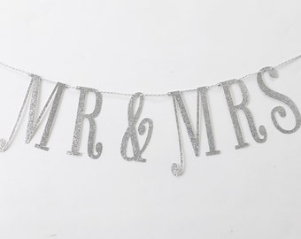 Mr & Mrs Banner, Wedding Banner, Engagement Banner, Anniversary Banner