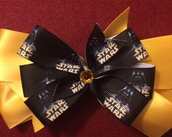 Star War hair bow