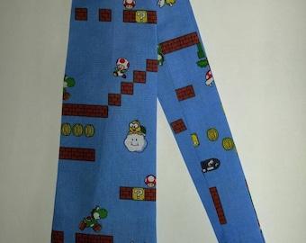 Super Mario Necktie Gamer Necktie