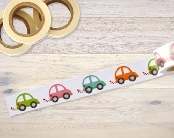 Masking tape with tiny little cars Washi Tape