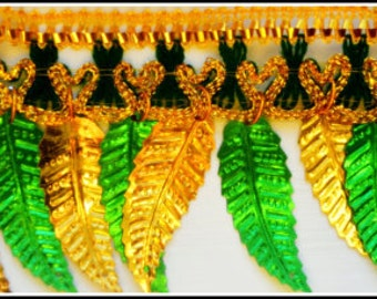 Mango Leaves Indian Thoran Door Hanging