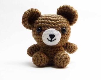 Amigurumi Teddy Bear, Bear, Handmade Crocheted Bear