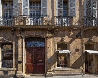 France Photography, Aix-En-Provence, South of France, Summer in France, Fine Art Print, French Architecture, Provence, Abstract Wall Art