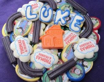 Thomas the Train chocolates candy tray