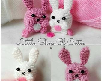 Cute Crochet Bunny Amigurumi