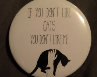 Cat quote magnet