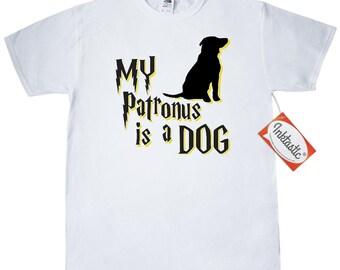 Dog Patronus T-Shirt by Inktastic