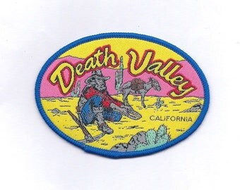 Vintage Death Valley California Patch