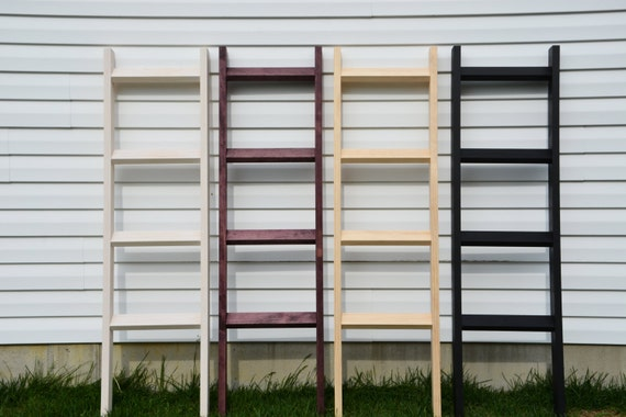 Items Similar To 5' Blanket Ladder, Rustic Home Decor