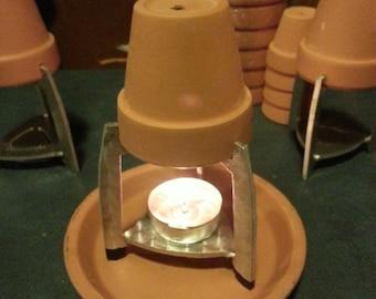 Single Tea Light flower pot holder.