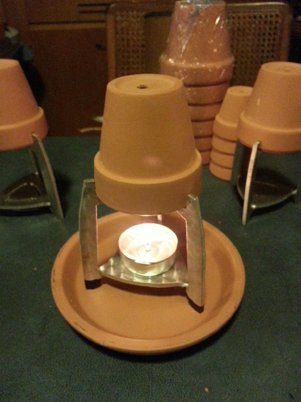 Single Tea Light flower pot holder
