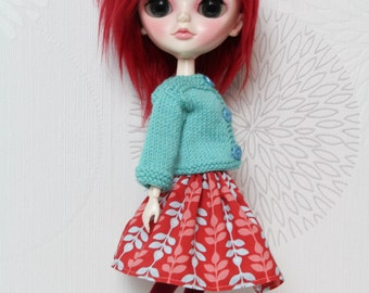 Doll's clothes/sweater Blythe, Pullip, Tangkou, Barbie
