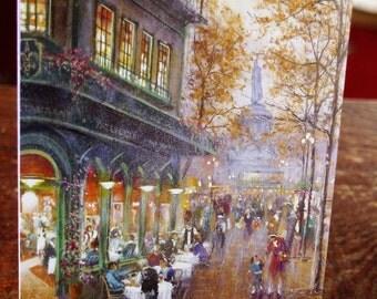 Street Scene Card