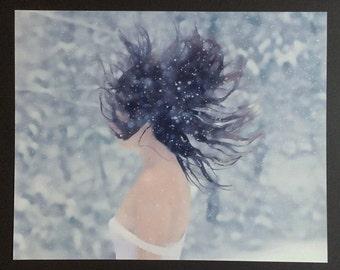 "Self Conceptual Fine Art Photograph/16""x 20""/Luster Print"
