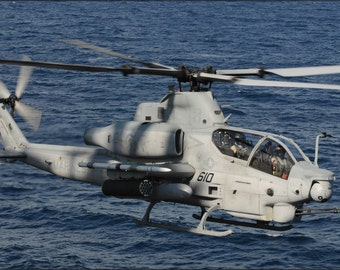 24x36 Poster . Ah-1Z Cobra Ah-1 Huey Helicopter (Hx) 21, Patuxent River
