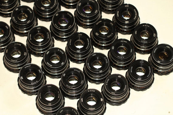 Industar-61L/D 2.8/53-55mm LEICA Russian lenses M39 Lot of 30pcs. Good Cond. q