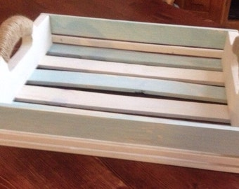Rustic Serving Tray Crate