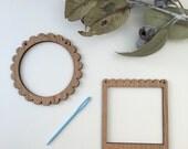 Tiny Loom Weaving Kit