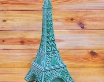 ON SALE Franor Royale Paris, Tour Eiffel Decanter and Music Box.