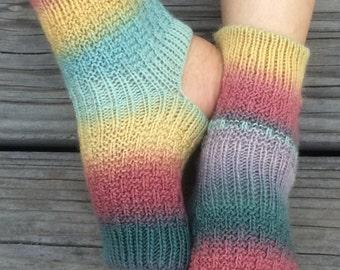 Hand Knit Yoga Socks (Vermont)