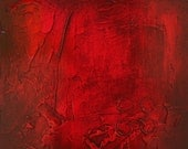 Contemporary art panel, Red Mix and Match painting panels. Abstract 159 - Modern painting. Original abstract wall art multi panel painting.