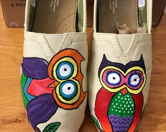 Owl TOMS Shoes