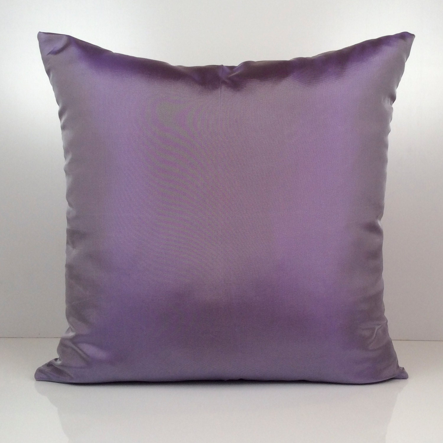 Silver Purple Pillow Throw Pillow Cover Decorative Cover