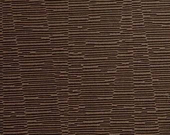 SCALAMANDRE OTTOMAN Textured JACQUARD Fabric 10 Yards Brown