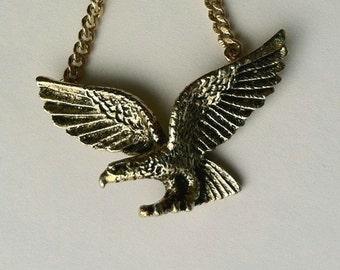 Vintage Avon Eagle Necklace