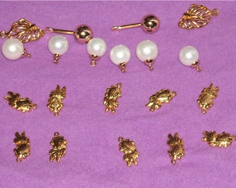 Gold Filled Dangle Charms Pendants