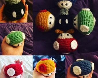 Mario Brothers Themed Amigurumi
