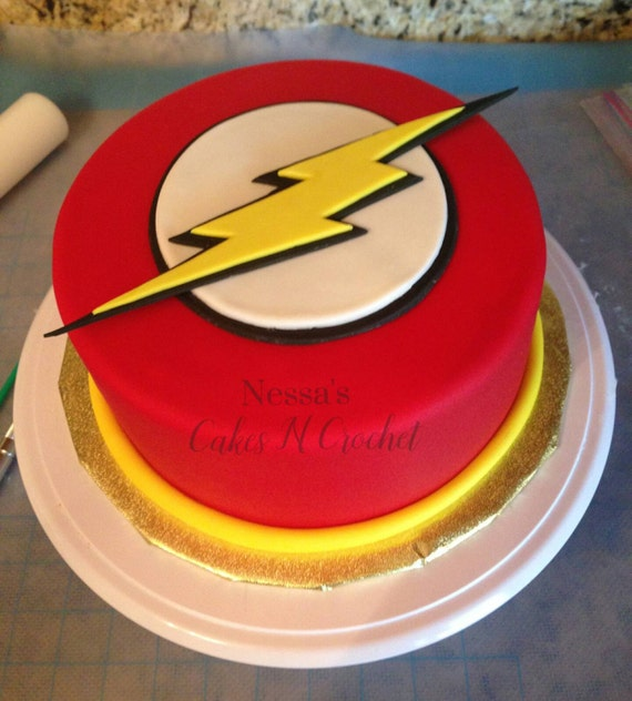 Flash Cake Fondant Topper