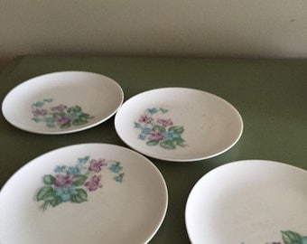 Melmac Saucers Royal Inc Melamine Plates Made in the USA America Retro Kitchen