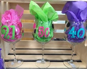 Milestone Birthday Glasses