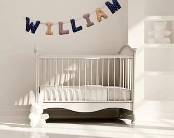 Articles similaires guirlande 5 lettres pr nom b b vert et gris d co chambre b b cadeau - Guirlande deco chambre bebe ...