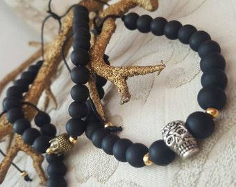 Bracelets Knight Beads frosted