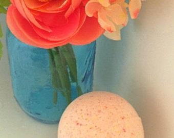 Natural Bath Bombs- Essential Oil Bath Bomb- Tangerine Bath Bomb- Bath Bomb- Epsom Salt- Aromatherapy- Gift Ideas- Gifts for Her