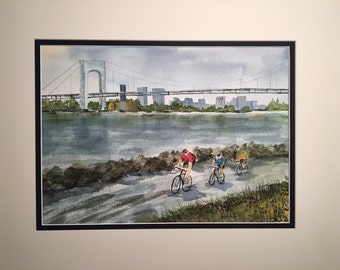 Cycling Along the Hudson
