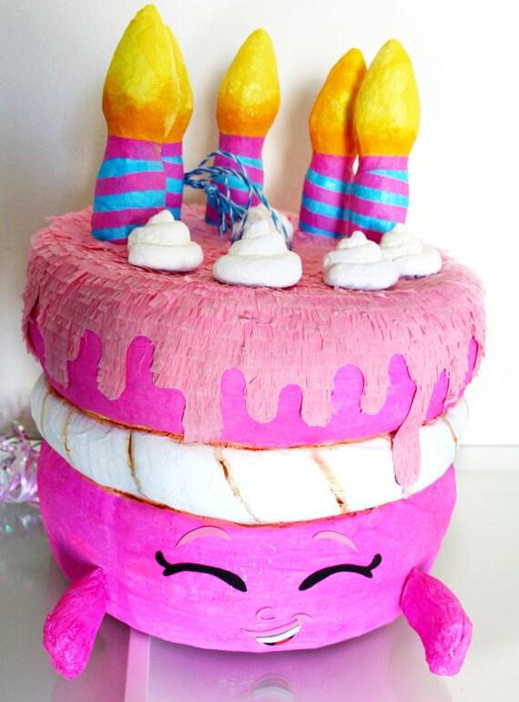 Birthday Wishes Cake Pinata Birthday Cake by SmashandPullPinata