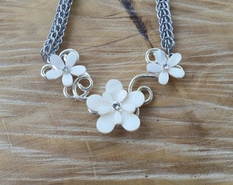 Full Persian Flower Necklace