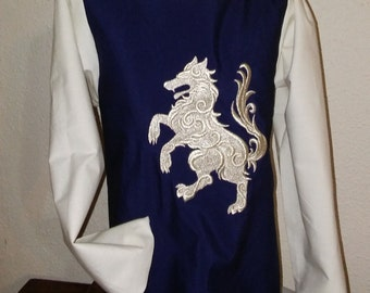 Knight Tunic with Muslin Sleeves *Made to Order*