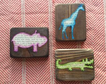 Safari Critters Set of 3